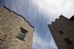 Tower of Castello di Montegiove in Umbria near Orvieto